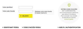 Banque Monabanq - www.monabanq.com : Espace Client